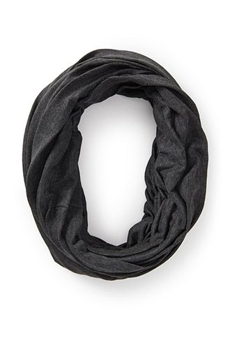 Heathered Knit Infinity Scarf | FOREVER 21 - 1000060661