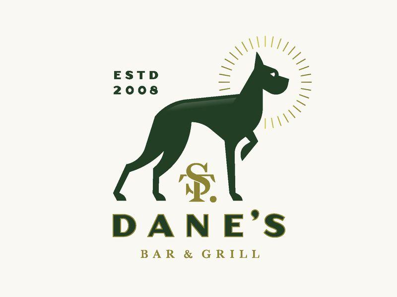 Saint Dane S Dog Logo Saints Monogram Logo