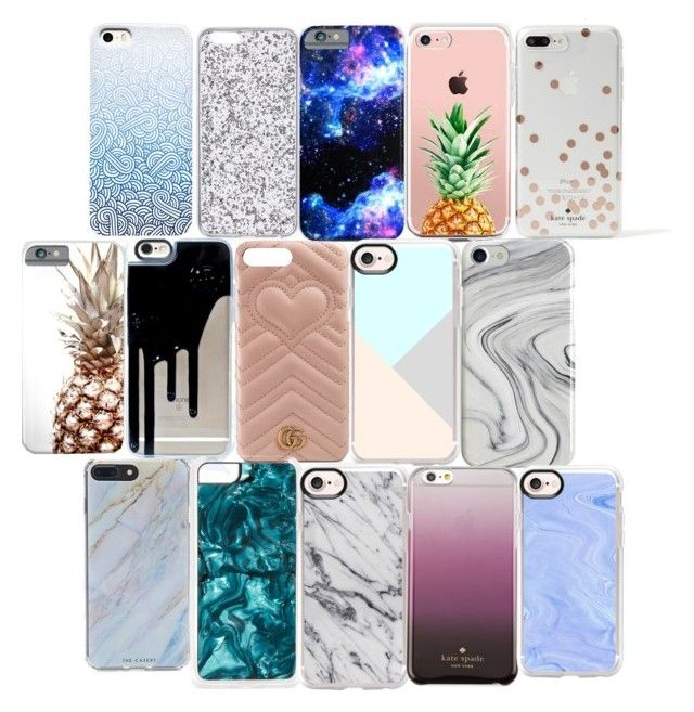 """""""Phone cases"""" by shakeitoff924 on Polyvore featuring The Casery, Kate Spade, Recover, Casetify, Gucci, Forever 21 and Zero Gravity"""
