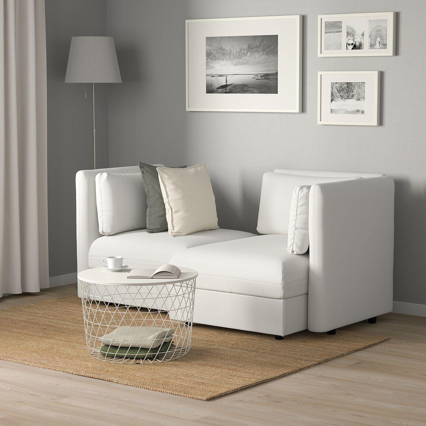 VALLENTUNA 2er sitzelement mit StauraumMurum weiß IKEA
