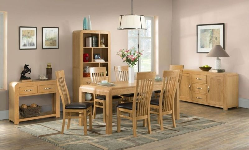 Devonshire Verona Oak Dining Table Small Extending Enhance Your Living Space With These Oak Dining Table Dining Room Furniture Painted Living Room Furniture