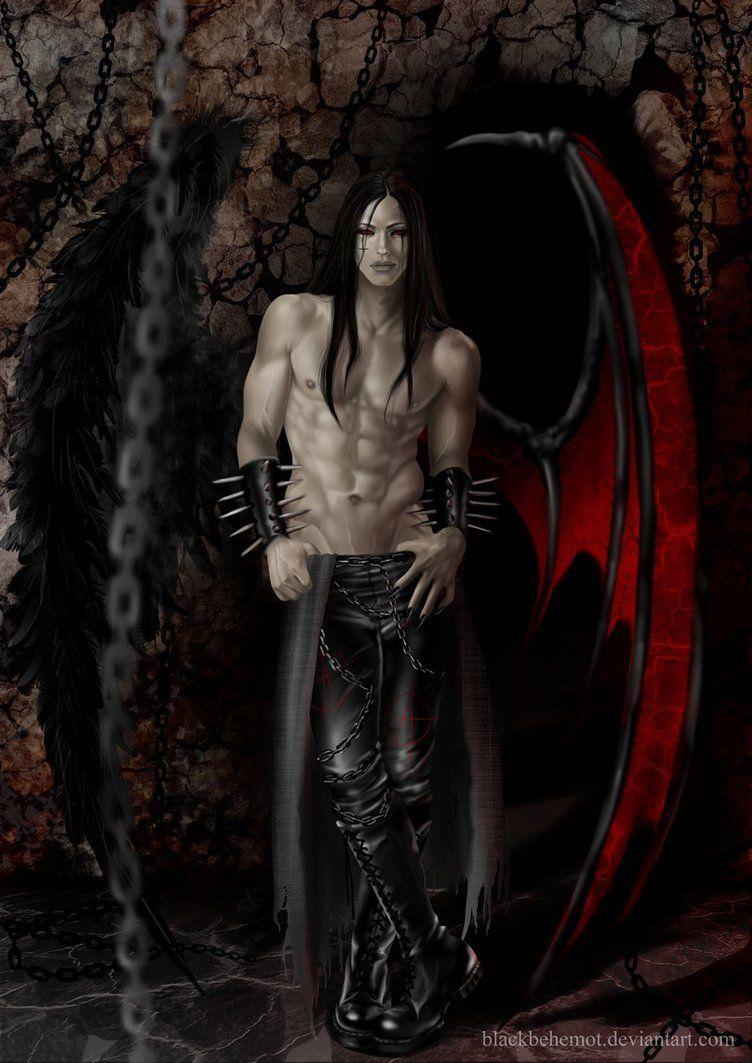 Картинки с демонами мужского пола
