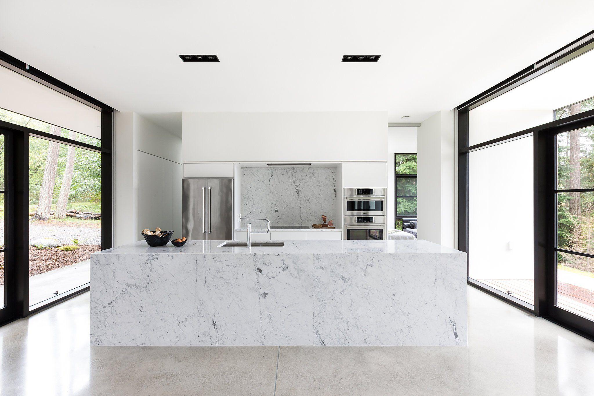 An Ultra Minimalist Escape Published 2017 Arch Interior House Minimalist Kitchen