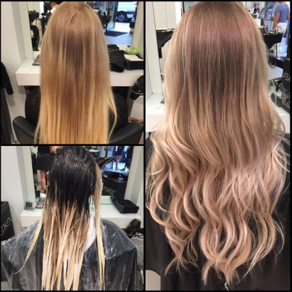 Farbtechniken Haare