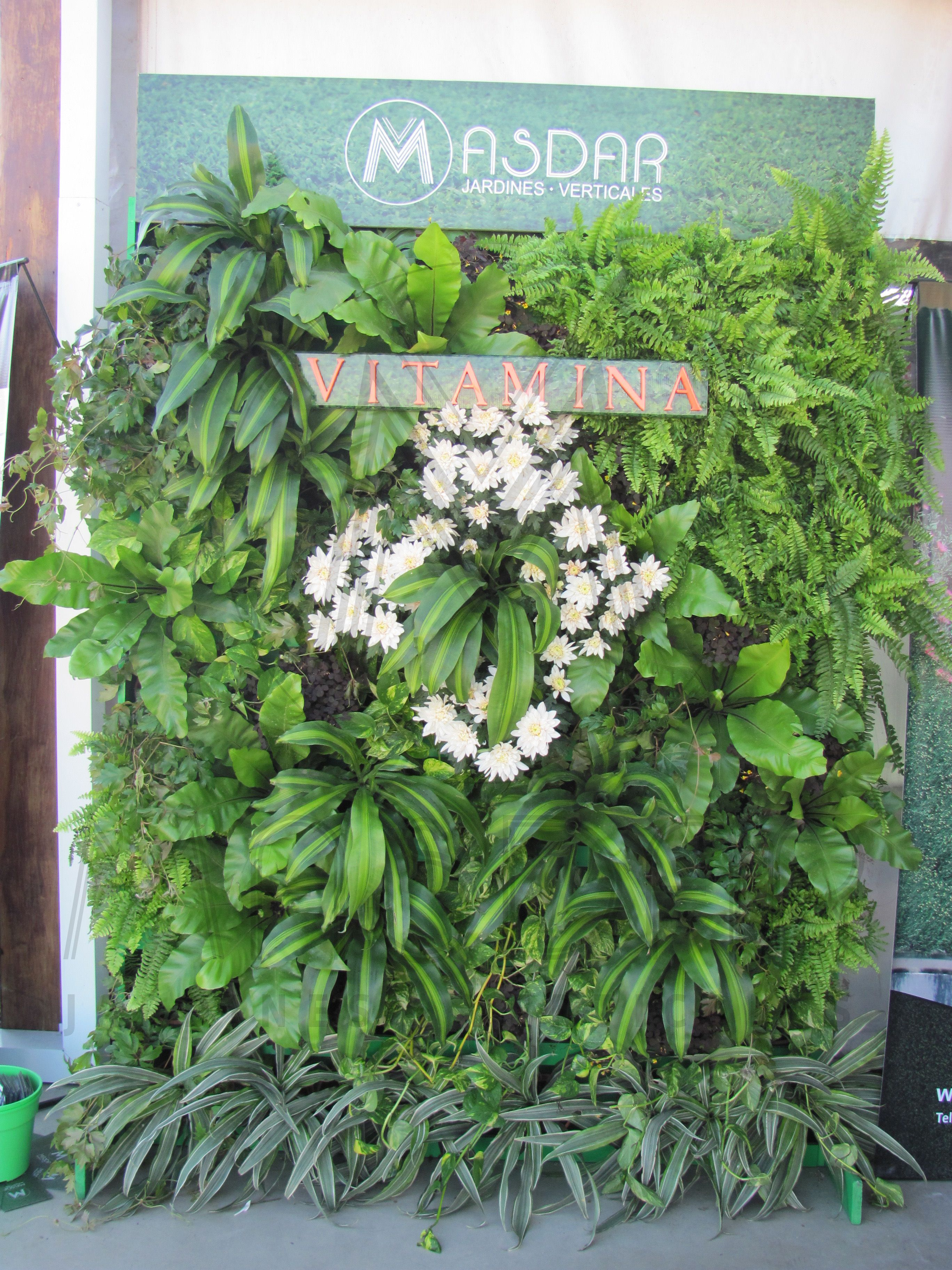 Proyecto vitamina presentaci n pv14 de masdar jardines for Proyecto jardines verticales