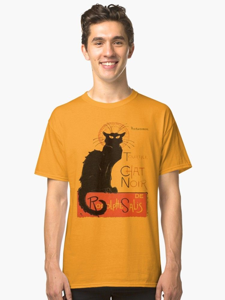 Tournee Du Chat Noir After Steinlein Classic T Shirt By Taiche Tournee Du Chat Noir T Shirt Le Chat Noir