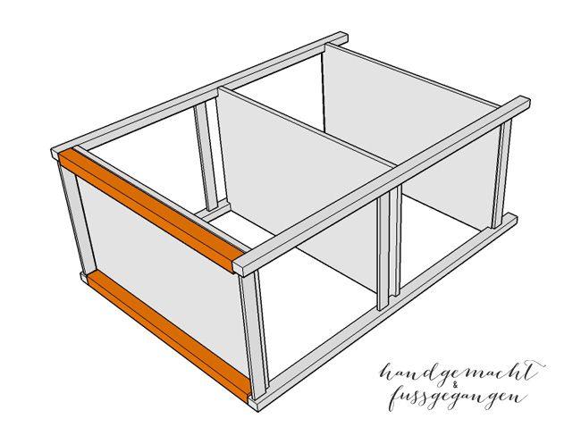 ikea hack ivar regal auf rollen mobile ivar ideen. Black Bedroom Furniture Sets. Home Design Ideas