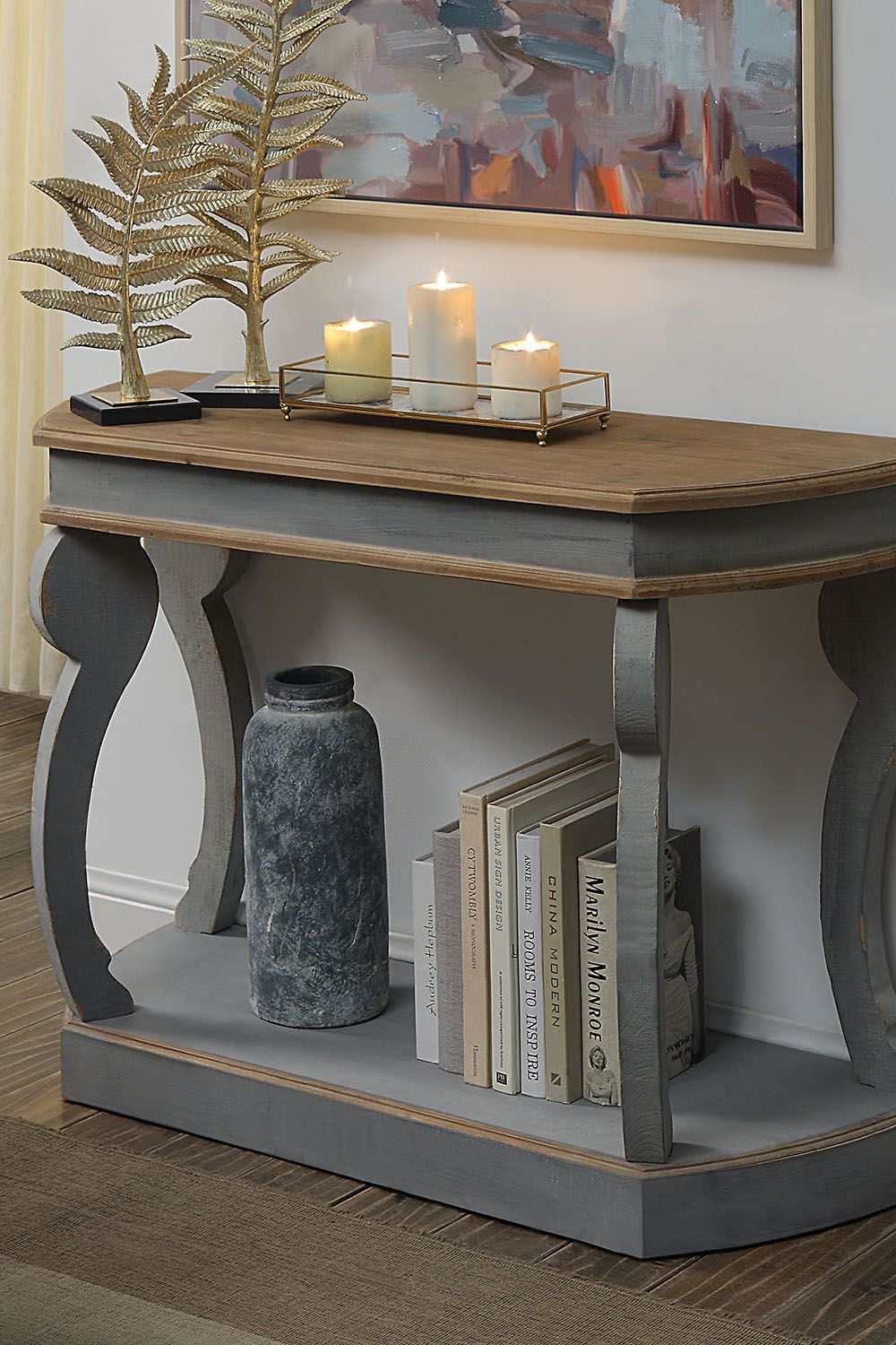 Westlin Console Table Farmhouse Console Table Wood Console Wood Console Table