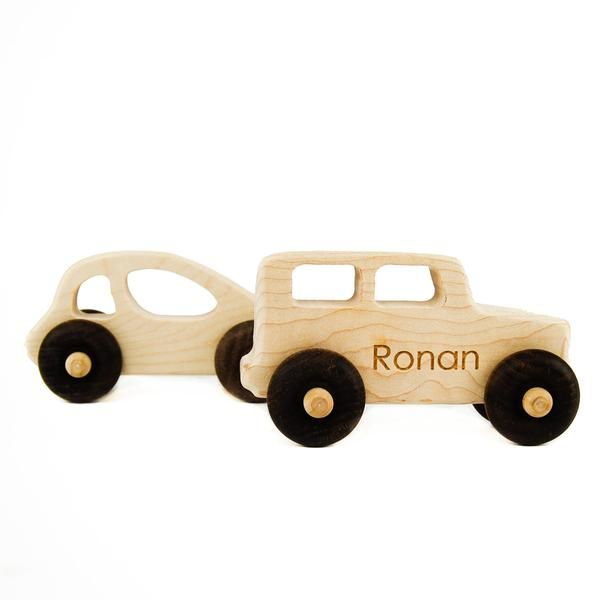 Wood Toys- Car and Truck Toy - Little Sapling Toys - 1
