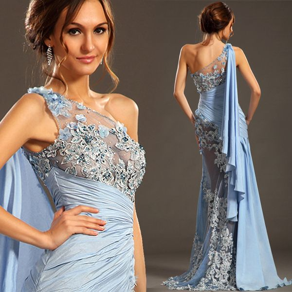 Find More Evening Dresses Information About Luxury Arabia Style Greek Dess Dress One Shoulder Zuhair