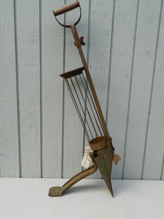 Antique Farm Tool Seed Planter