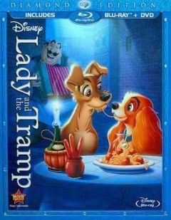 Lady And The Tramp Blu Ray Little Golden Books Lady The Tramp Disney Movies