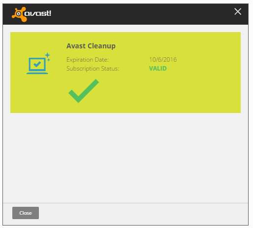 avast cleanup license file