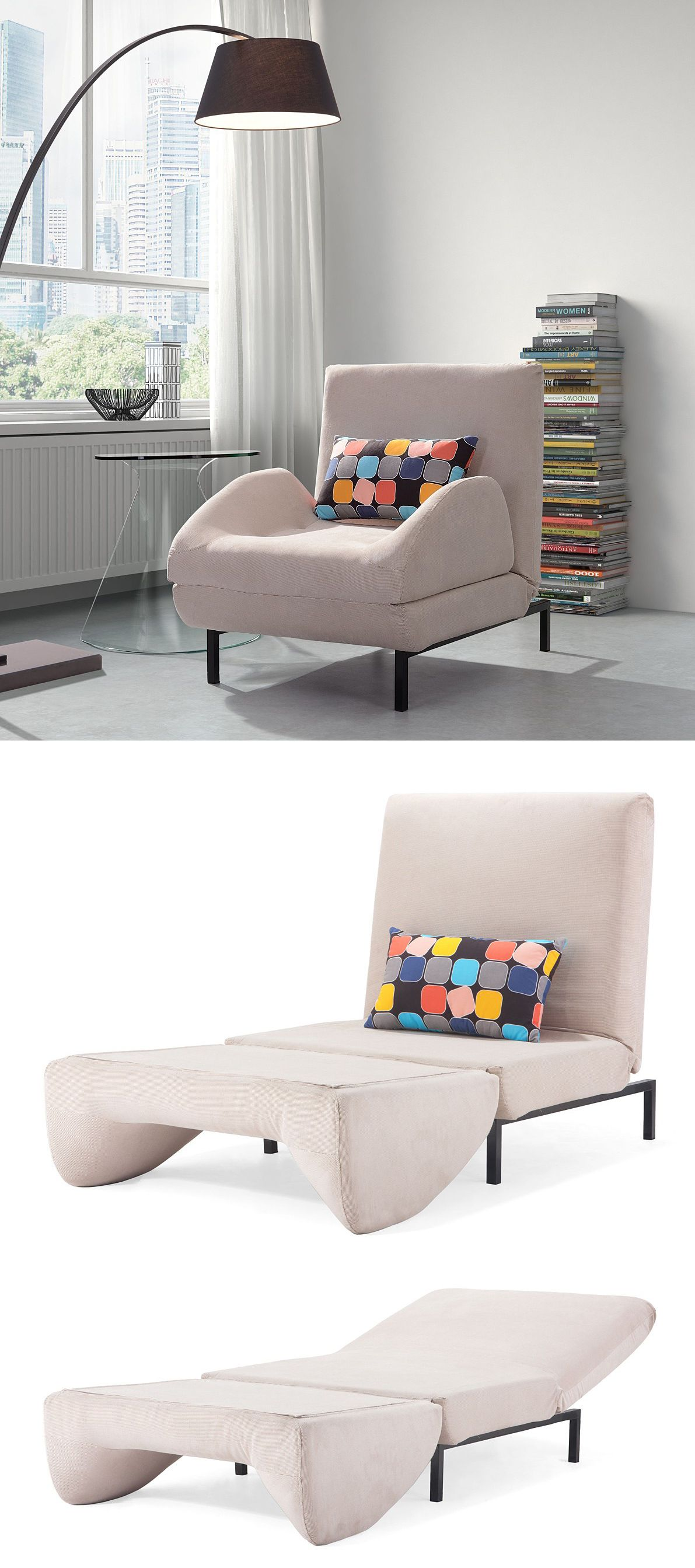 Best Comfy Arm Chair That Folds Out To A Twin Sleeper 400 x 300