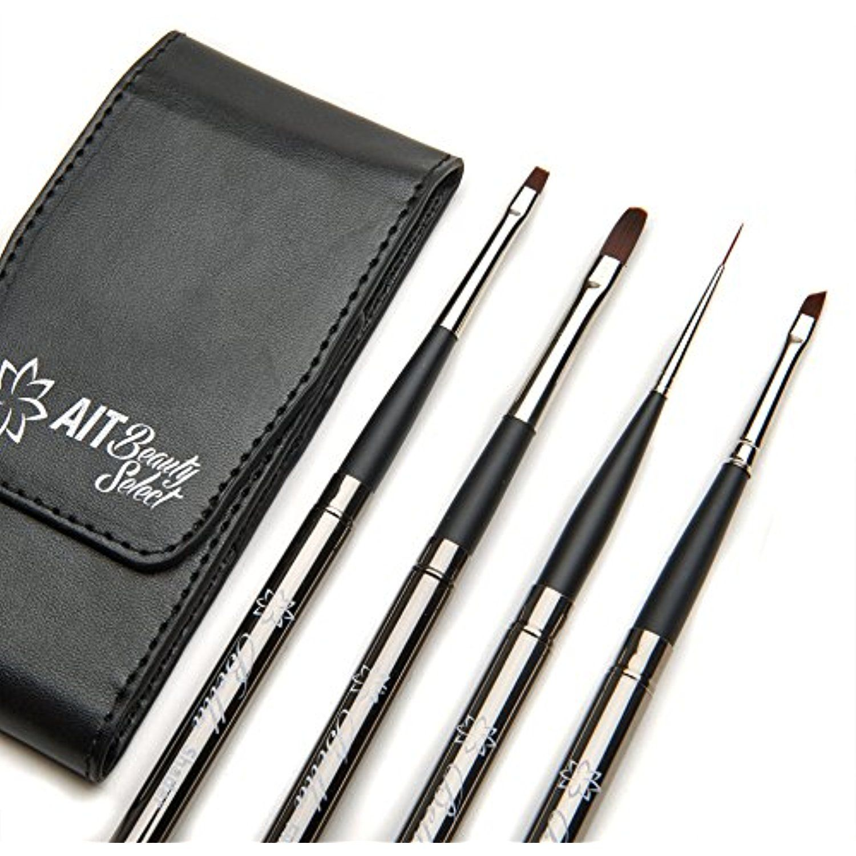 AIT Beauty Select Bella Makeup Brush Set of 4 Detail