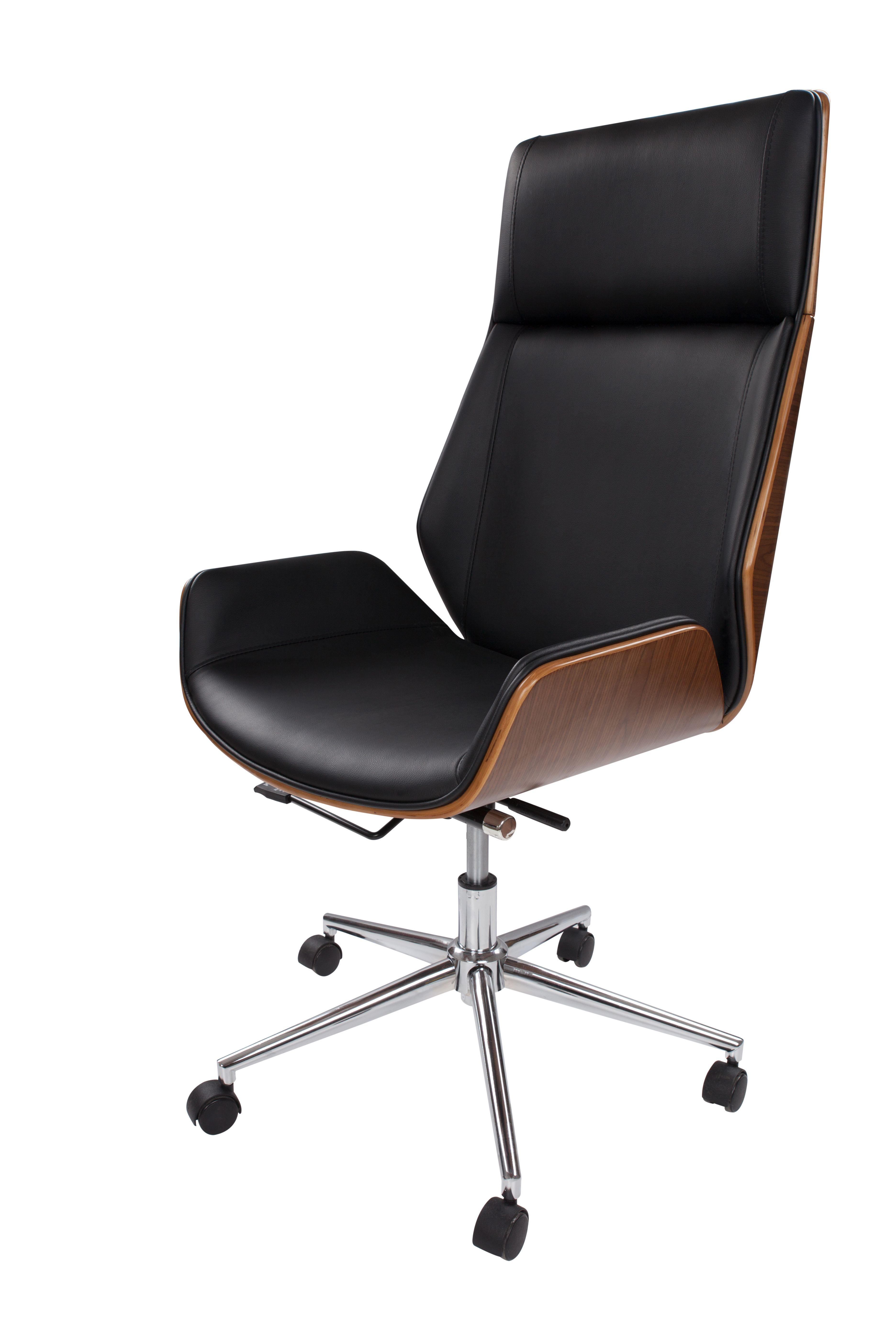 Bürostuhl Maleko 160 Schwarz | Bürostuhl, Online möbel, Stühle
