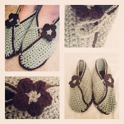Ravelry: Easy Asian Baby Shoe, Bootie, Slipper Pattern for Baby ...