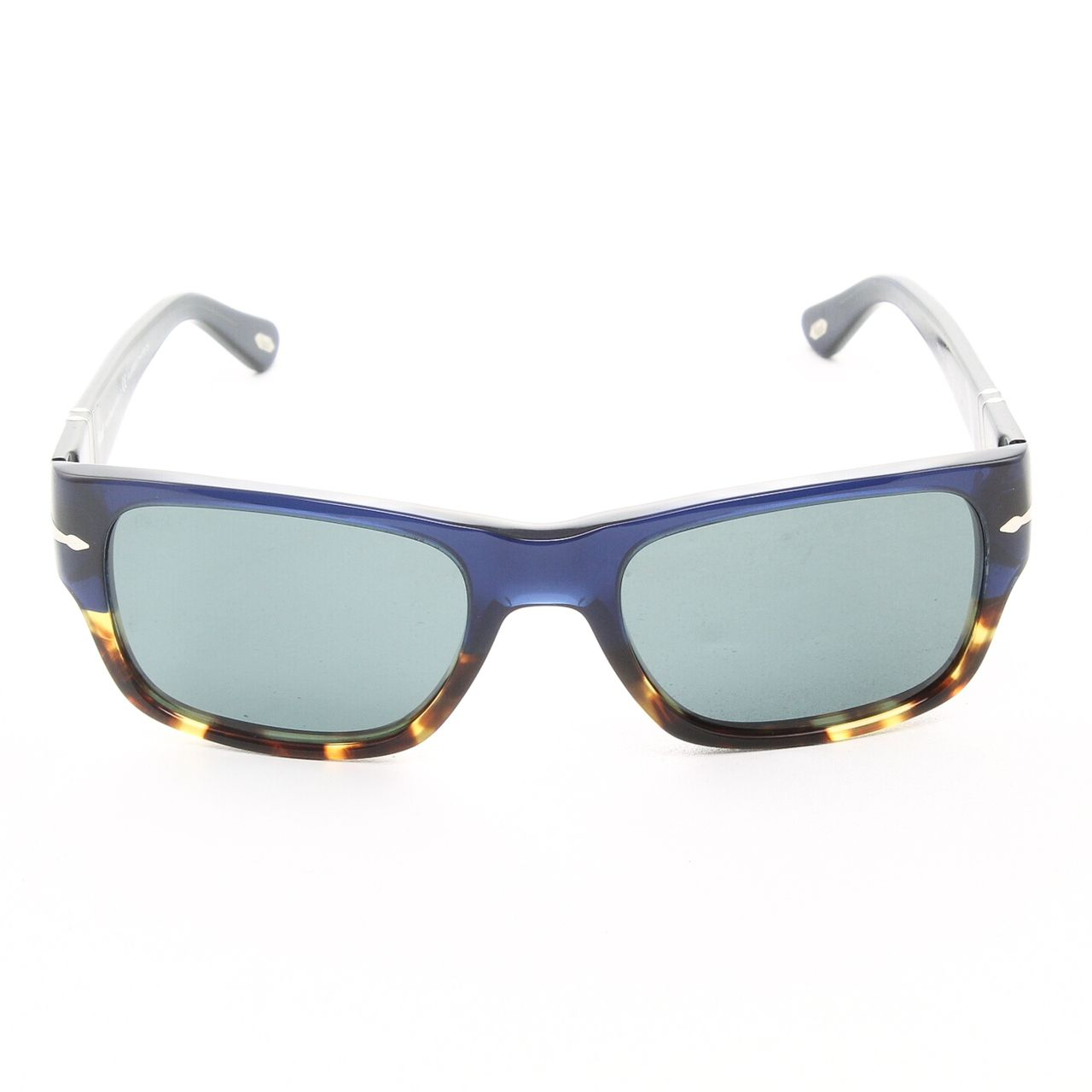 8c099a9d5a215 PERSOL 3021 955 4N 53mm Sunglasses Blue Tortoise with Blue Polarized  Photochromic Lenses - Theaspecs.com