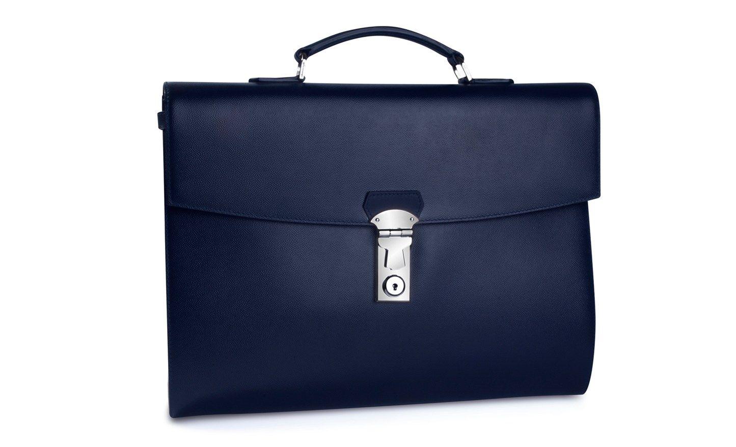 Tateossian Leather Briefcase