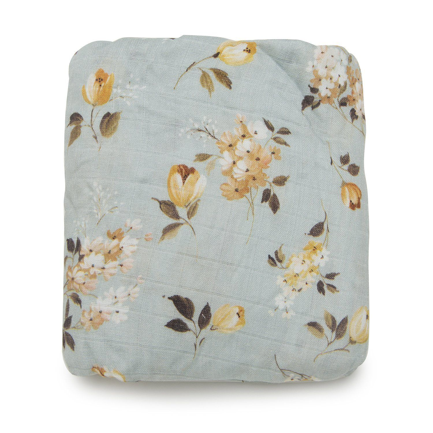 Love A Floral In An Unusual Color Palette Like This Wild Rose Crib Sheet Crib Sheets Fitted Crib Sheet Project Nursery