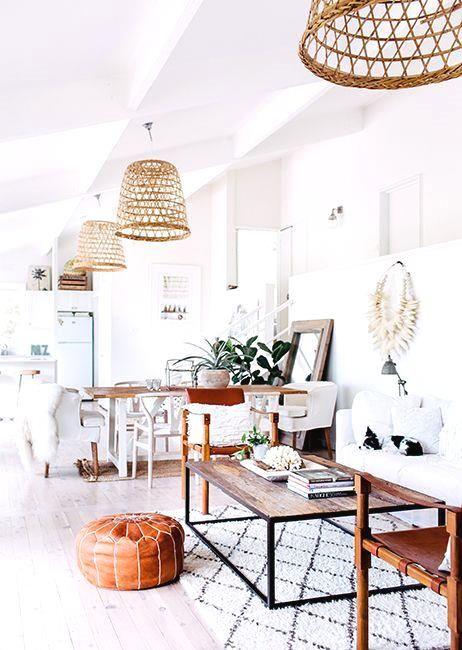 White rustic interio     White rustic interior