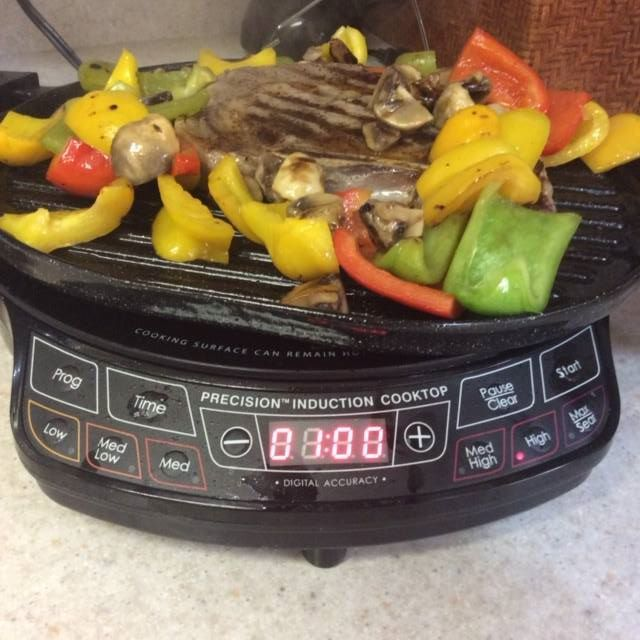 Linda B Used Her Nuwave Pic To Grill A Perfect Steak Without Heating Her Kitchen On A Hot Day All She Did Wa Halogen Oven Recipes Nuwave Oven Recipes Cooking
