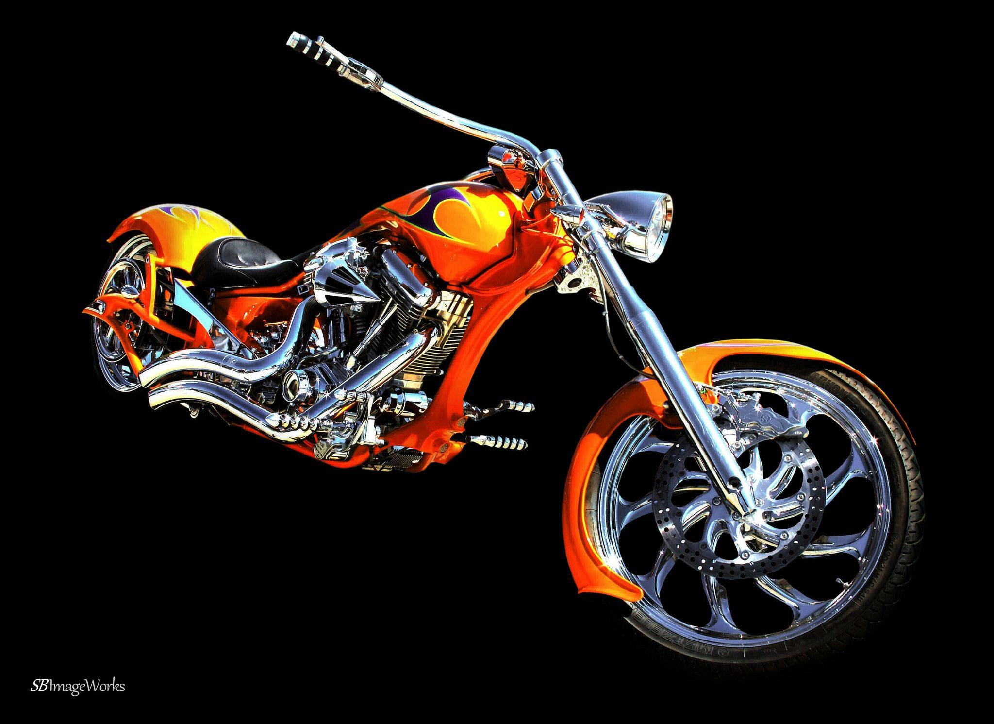https://flic.kr/p/q5iz8X | bike art.... | from the Hooters tour car show archives....a 12 x 10 print for a friend   copyright SB ImageWorks