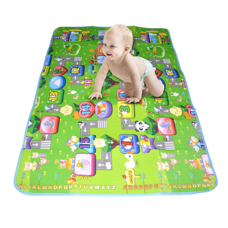 Indoor Outdoor Rug Pcs Activity Children Puzzle Play Mat Baby for Kids Room Carpet Rug Blanket Learning Educational Toys