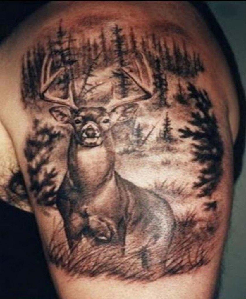 deer tattoos for men and women deer tattoo tattoo and woman