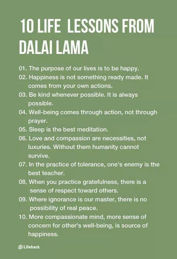 Photo of 10 inspirierende Lektionen aus dem Leben des Dalai Lama… # …