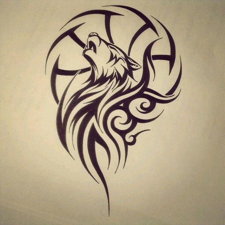 Wolf Tattoo Design Tribal Tattoos Tribal Tattoo Designs Wolf