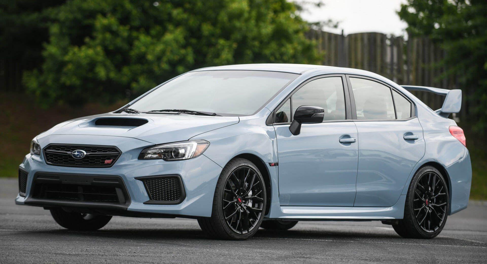 Subaru Unveils Limited Edition 2019 WRX And WRX STI Series