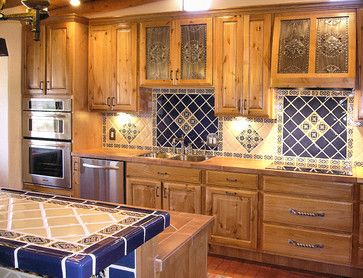 New Mexico Territorial Style Kitchen Design Ideas Pictures