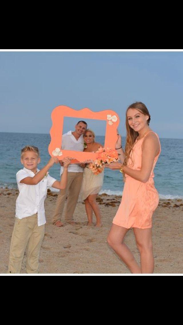 Vow Renewal On The Beach 10 Year Anniversary Wedding Renewal
