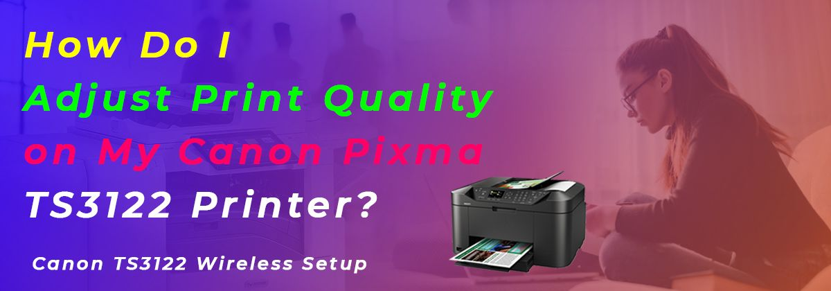 How do i connect a canon ts3122 printer to wifi
