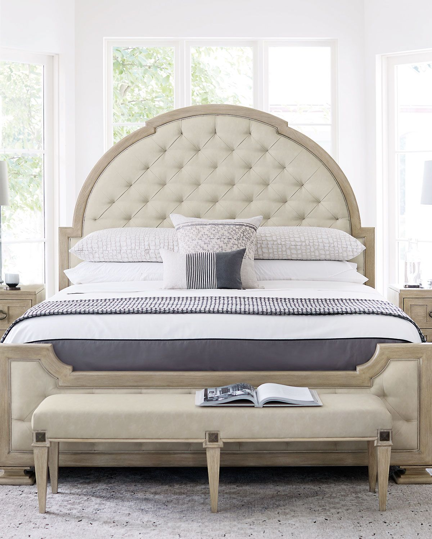 Bernhardt Santa Barbara Tufted California King Bed