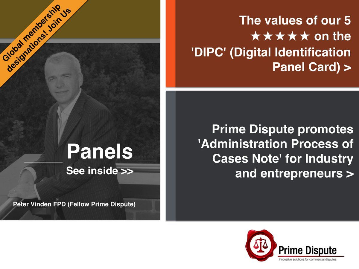 View The Dipc For Peter Vinden Fpd  See Which Industry Sectors