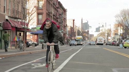 Meet Bill He S 52 Years Old And Delivers Pizzas On A Fixed Gear