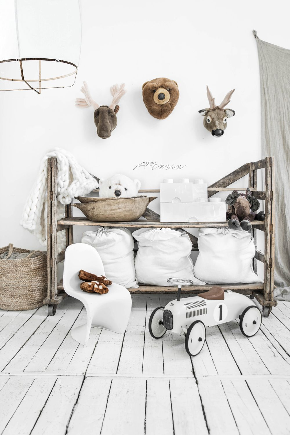 Photo of WHITE + NATURALS FOR KIDS ROOM
