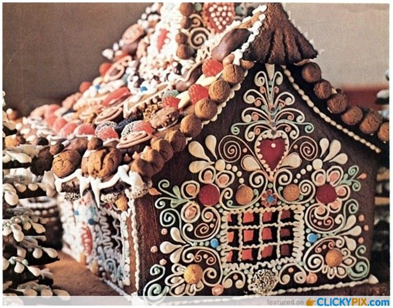 Extreme Gingerbread Houses   Google Search
