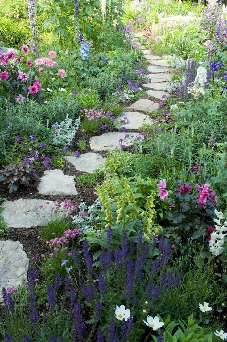 Schöne kleine Cottage Garden Design Ideas 270 Schöne kleine Cottage Garden Design Ideas 270