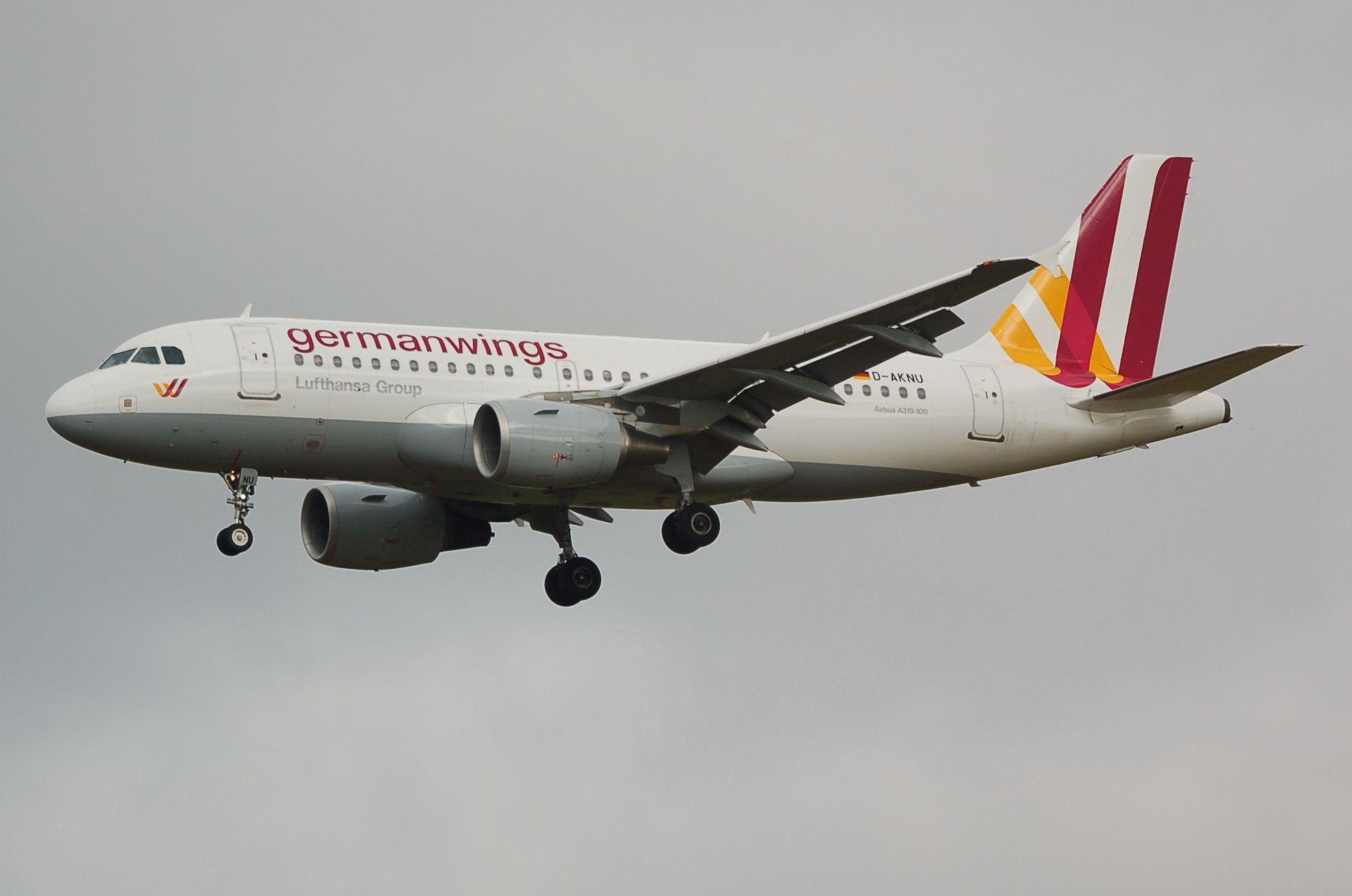Germanwings Airbus A319 D-AKNU (Kevin Manning)