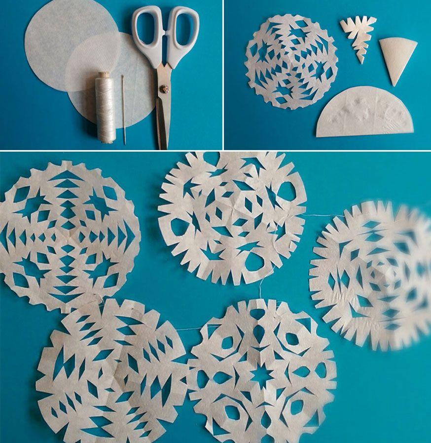 auf der frozen party kann es gar nicht genug schneeflocken geben kindergeburtstag pinterest. Black Bedroom Furniture Sets. Home Design Ideas