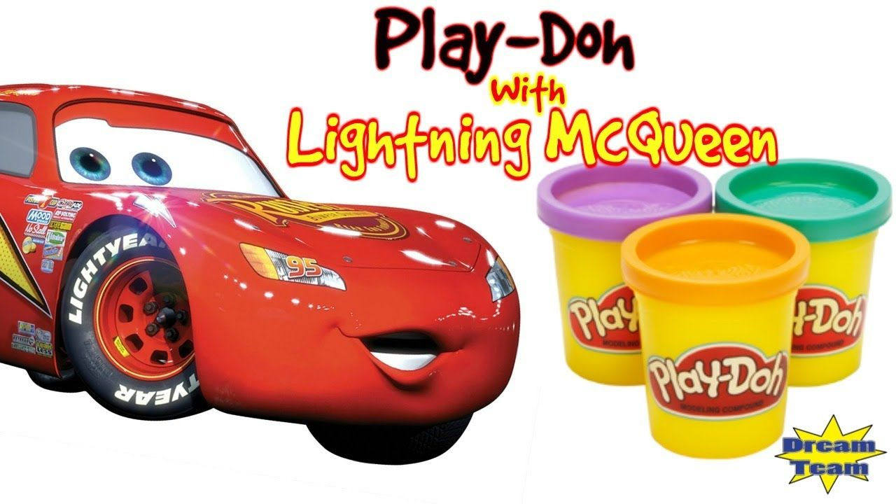 CARS FOR KIDS Transformation With Play Doh With Lightning McQueen From C..  sc 1 st  Pinterest & CARS FOR KIDS Transformation With Play Doh With Lightning McQueen ...