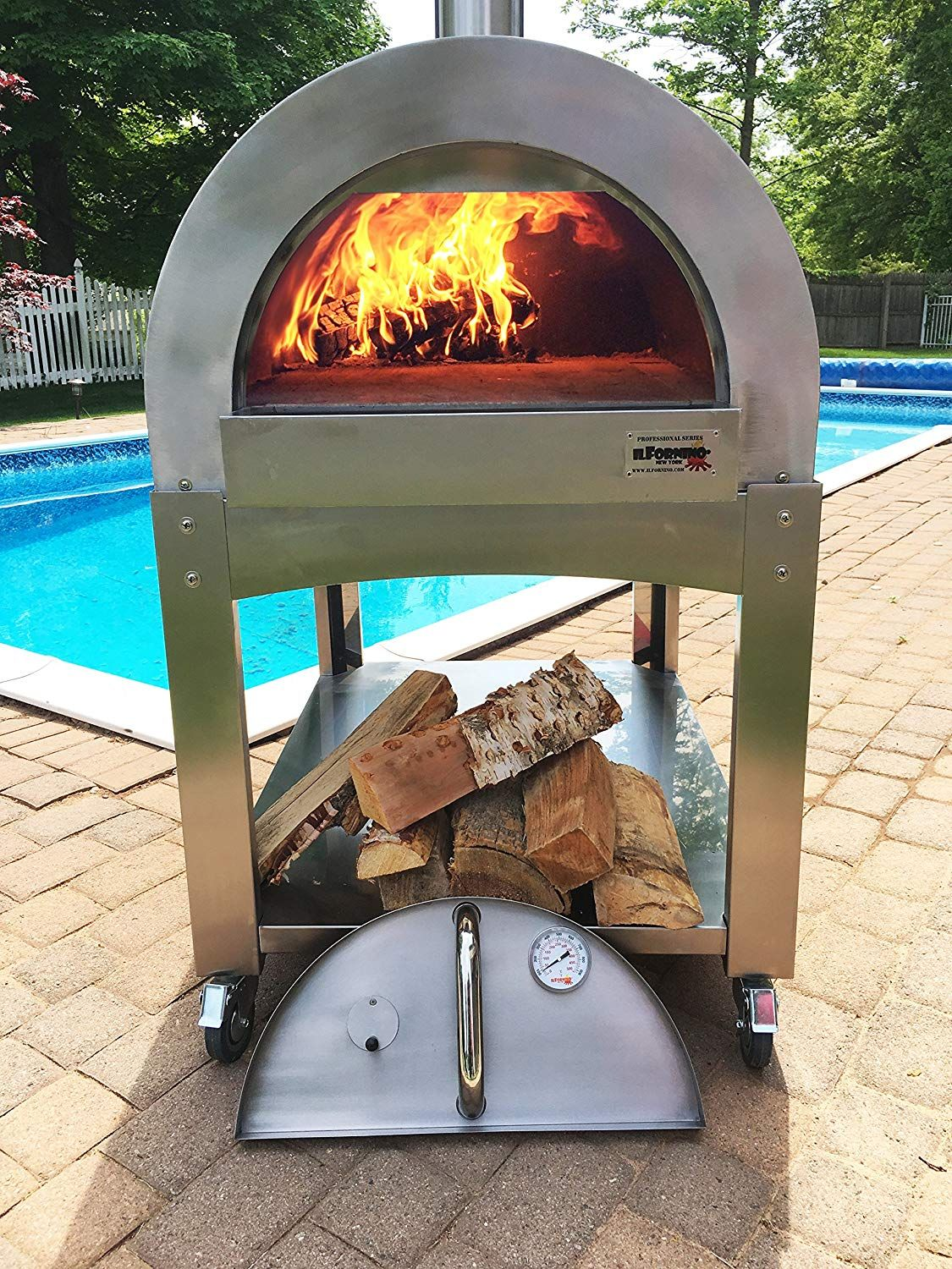 Fine Portable Outdoor Pizza Oven Pictures Good 24 On Small Home Decor Inspiration With