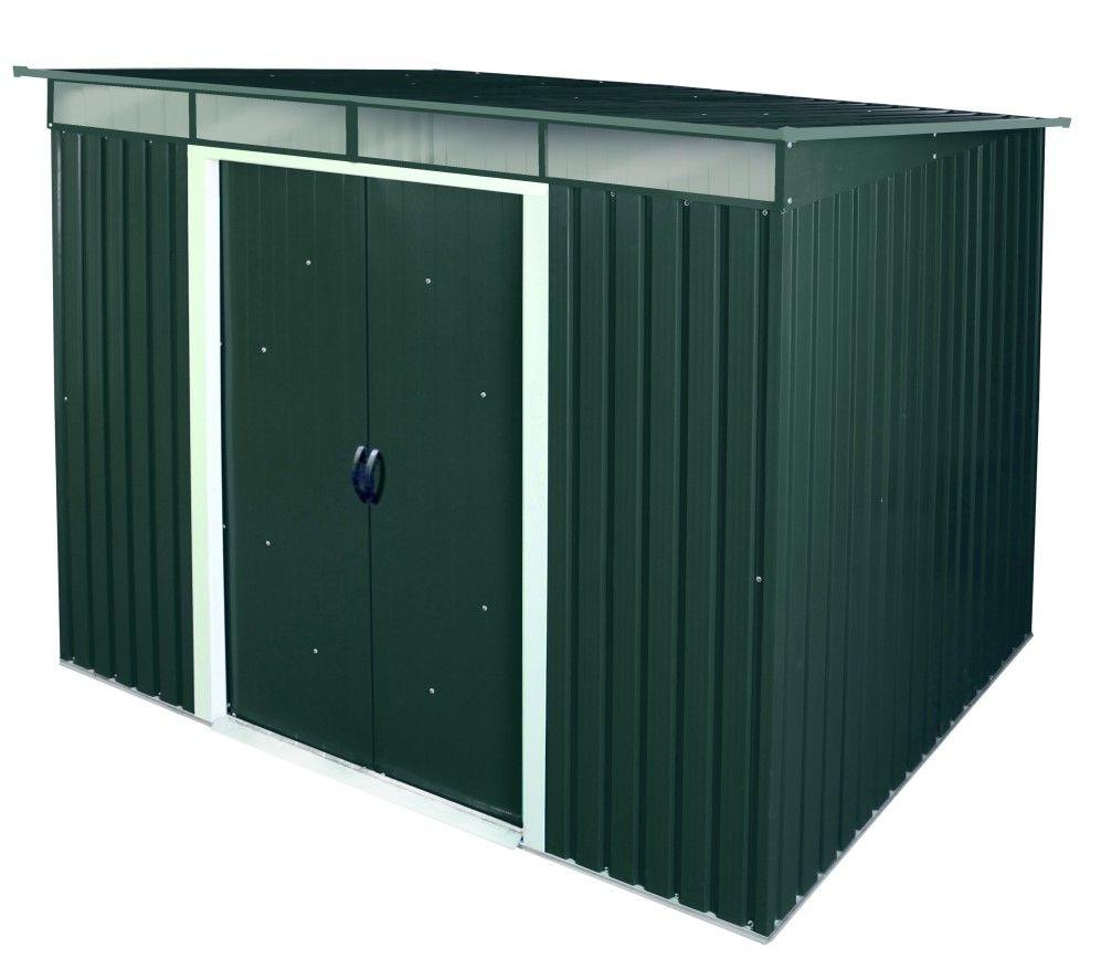 Duramax Metallgerätehaus Pent Roof Skylight 8x6 anthrazit