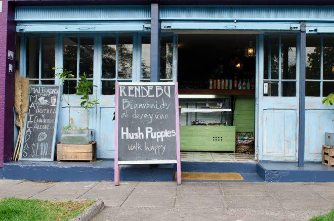 Desayuno Hush Puppies Vintage coffee, Hush puppies, Decor