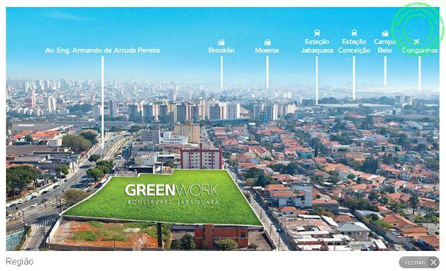 Salas Comerciais  36 a 940m² privativos, investimento seguro.