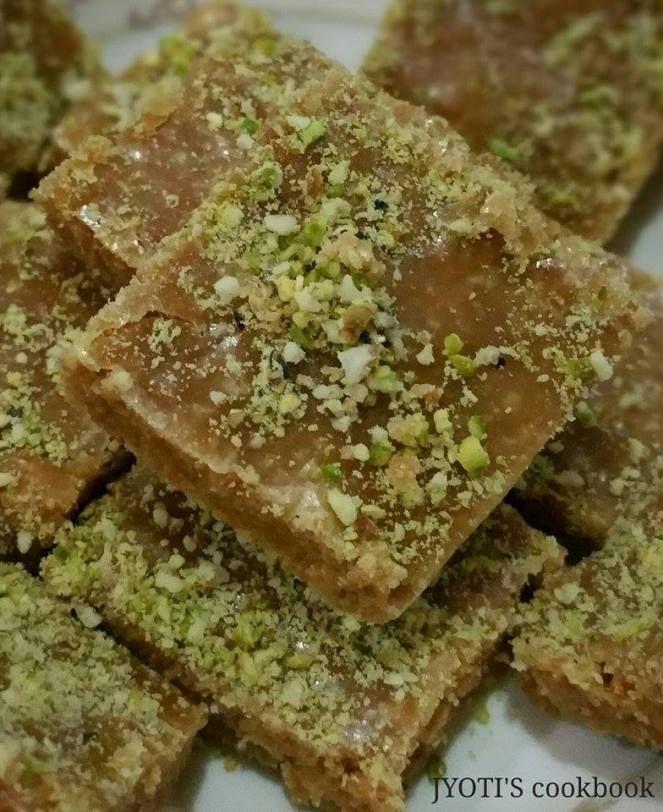How to make Gujarati Sweet Mohanthal (Gram Flour Fudge)…. – JYOTI'S cookbook