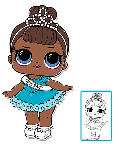 Serie 1 Pagina 3 Lol Surprise Doll Coloring Pages Lol Dolls Cool Coloring Pages Kitty Coloring